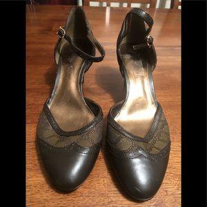 Etienne Aigner strapped heels